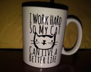 Working Hard Cat Mug [Product Review]