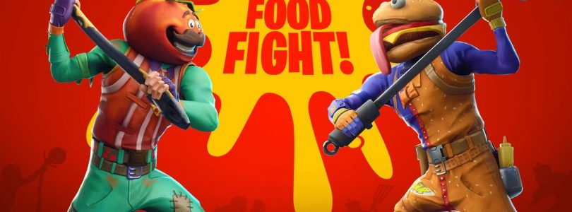 Fortnite Restaurants go to War in Food Fight